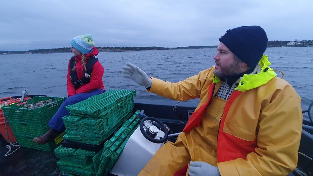 Petter Bjørge, Storm Østers og Mona Vauger, ordfører i Hvaler.
