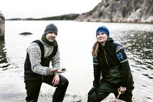 Jonas og Linnea Eldrimner. Foto Stephan Lomardie