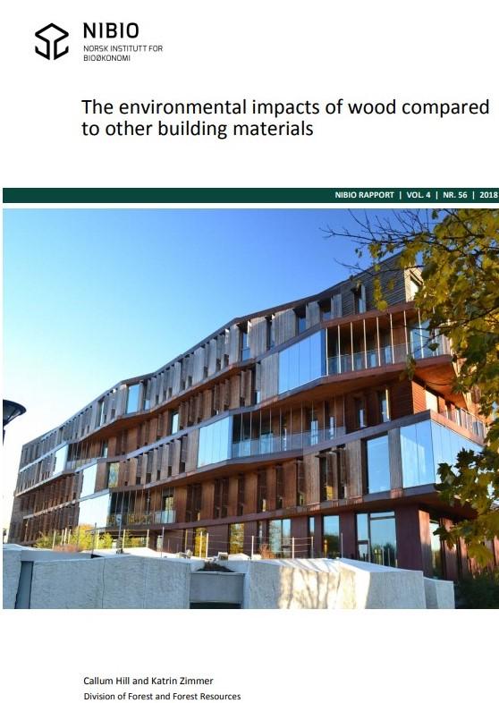 Miljøpåvirkning av tre sammenlignet med andre bygningsmaterialer